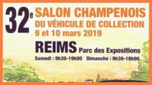 32e Salon Champenois du Véhicule de Collection @ Reims | Champagne-Ardenne | France
