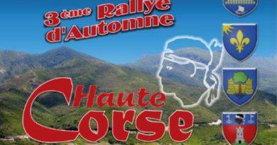 Rallye d'Automne 2018 en Haute-Corse