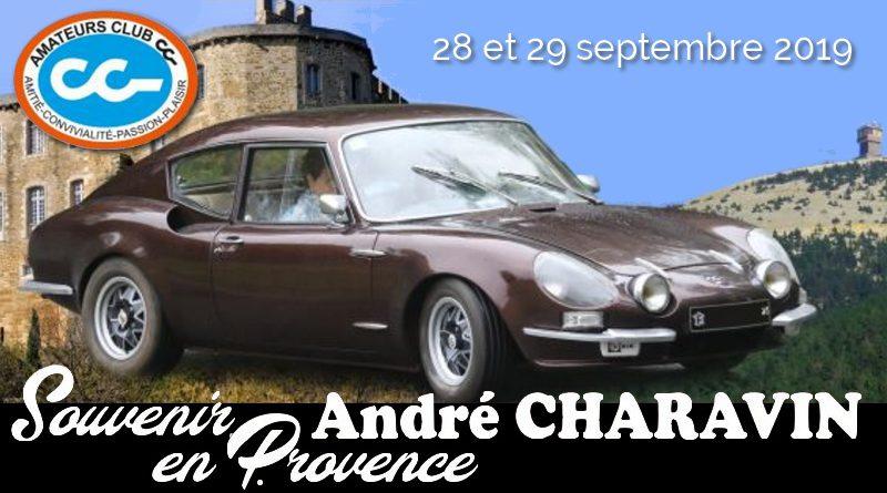 Rallye «Souvenir André Charavin en Provence»