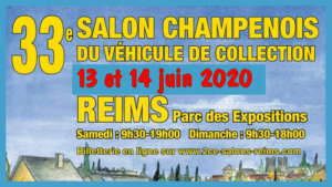 33e Salon champenois du véhicule de collection @ Reims