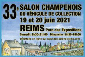 33e Salon champenois du véhicule de collection @ Reims