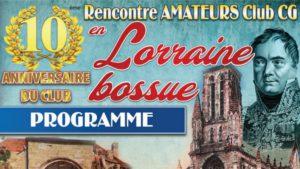 10e Rencontre en Lorraine Bossue @ Hotel-Restaurant Notre Dame de Bonne Fontaine