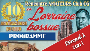 !! REPORTÉ !! 10e Rencontre en Lorraine Bossue @ Hotel-Restaurant Notre Dame de Bonne Fontaine